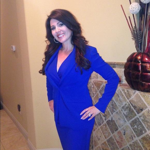 60% off Rachel Roy Dresses & Skirts - Rachel Roy Royal Blue Dress ...
